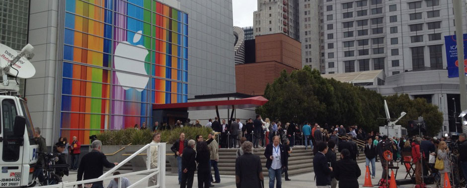 iPhone 5 Event - Yerba Buena Center for the Arts